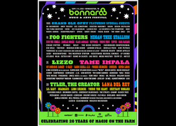 Bonnaroo 2021 Lineup Announced with Foo Fighters, Lizzo, Tyler the Creator, Megan Thee Stallion, Tame Impala, Lana Del Rey & More!